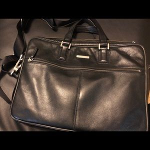 Johnston & Murphy Leather Briefcase. ( Men's)